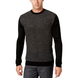 Ryan Seacrest Mens Pullover Sweater Heathered Colorblock - XL