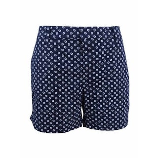 Tommy Hilfiger Women's Printed Shorts - midnight/ivory