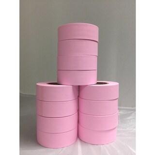 "Tape Planet Flagging Tape 1-3/16"" Non-Adhesive Plastic Ribbon (12 Roll/Case)"