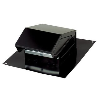 Broan-Nutone Black Roof Vent Cap 636 Unit: EACH