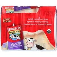 Horizon Organic Dairy - 1% Vanilla Milk ( 18 - 8 FZ)
