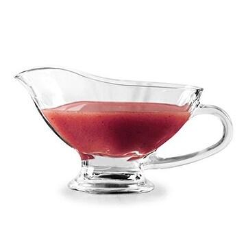 Palais Glassware Gourmet Saucy 10 Oz. Gravy Boat