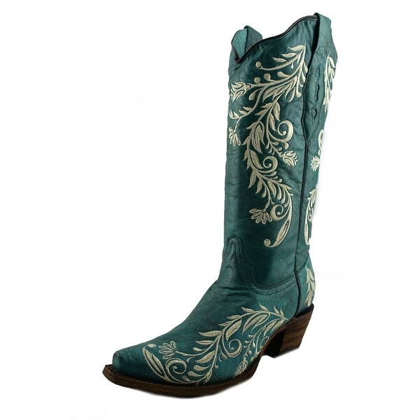Corral A3173 Pointed Toe Leather Western Boot