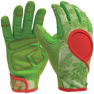 Digz 7651-23 Signature Gardening Gloves, Green