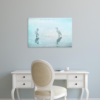 Easy Art Prints Hannes Cmarits's 'White Cranes' Premium Canvas Art
