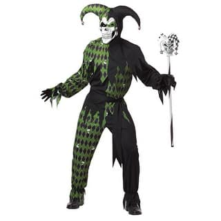 Adult Green And Black Evil Jester Mens Costume|https://ak1.ostkcdn.com/images/products/is/images/direct/31eec64b7c4f0ef3dc2f43ec518e957dfbba6e4d/Adult-Green-And-Black-Evil-Jester-Mens-Costume.jpg?impolicy=medium
