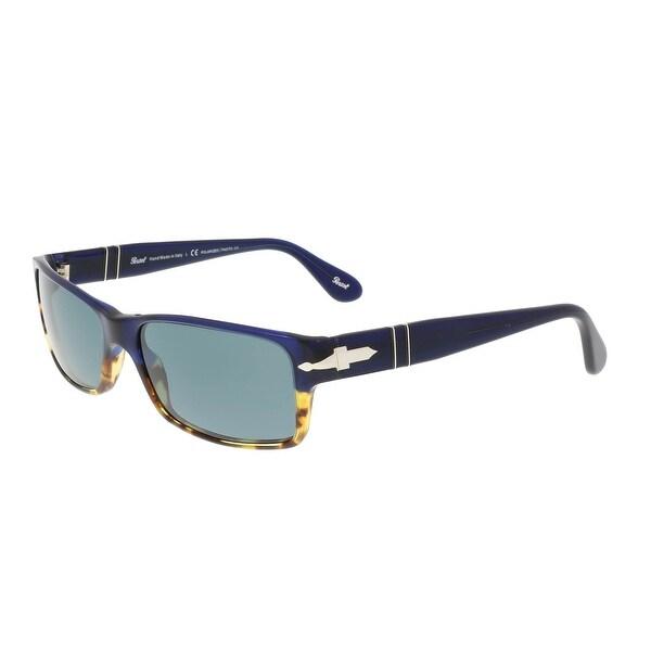 7d9441e17f9 Persol PO2747S 955 4N Blue Gradient Tortoise Rectangle Sunglasses - 57-16- 140