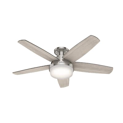 Hunter 48-inch Avia Low Profile LED Ceiling Fan with Remote