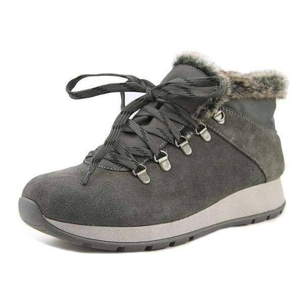 Baretraps Grazi Women Round Toe Suede Gray Winter Boot