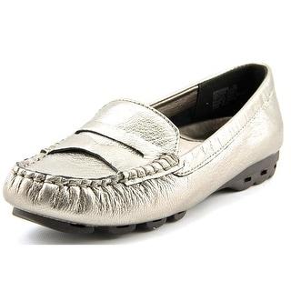 Easy Spirit Fabiana Round Toe Leather Loafer