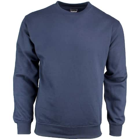 River's End Crew Neck Sweatshirt Mens Athletic Sweatshirt Pullover