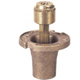 "Champion Irrigation 18SQ/12003 Quarter Circle Pop Up Sprinkler Head, 1-1/2"", Brass"