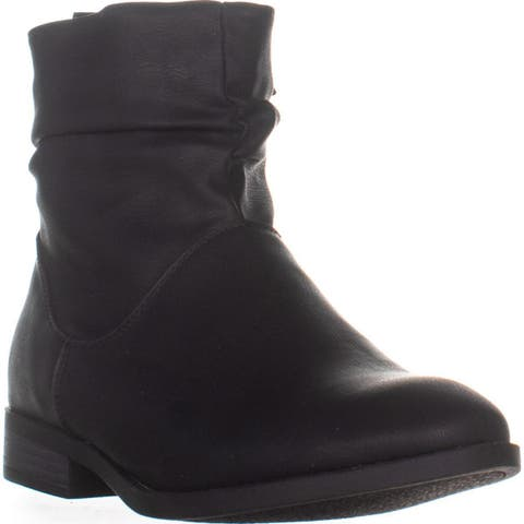 XOXO Cupertino Ankle Boots, Black - 10 US / 42 EU