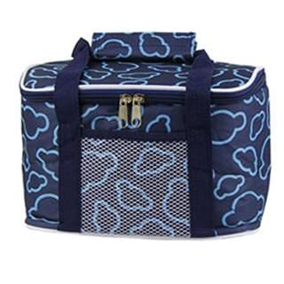 Waterproof Lunch Bag Thick large size 24*13*14.5cm Navy
