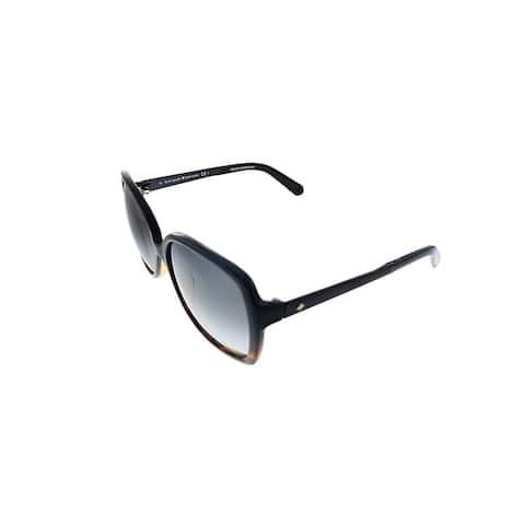 Kate Spade KS Darilynn/S EUT Womens Havana Black Frame Brown Gradient Lens Sunglasses