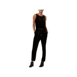 Eileen Fisher Womens Jumpsuit Velvet Ankle