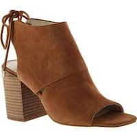 Kenneth Cole New York Women's Katarina Open-Toe Bootie Desert Suede