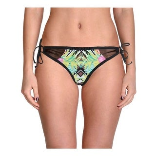 Bikini Lab Womens Juniors It Takes Hue Tropical Print Swim Bottom Separates