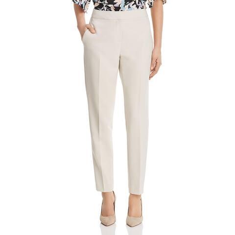 Donna Karan Womens Dress Pants Straight Leg Suit Separate - Morning Dew