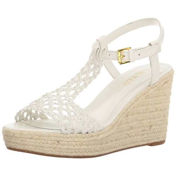 LAUREN by Ralph Lauren Womens Hailey Open Toe Casual Platform Sandals