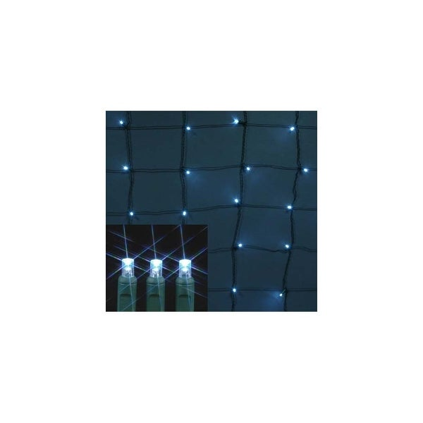 Christmas at Winterland S-4X6MMPW-NG 4X6 Foot M5 Pure White LED Net Lights - Pure White - N/A