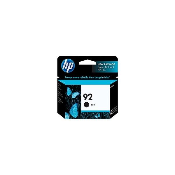 HP 92 Black Original Ink Cartridge (C9362WN) (Single Pack)