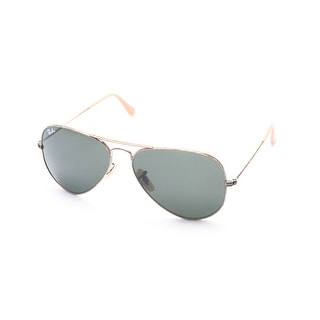 Ray-Ban Distressed Aviator Sunglasses Gold - Small