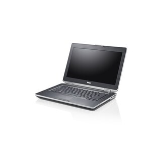 "Dell Latitude E6430 14.0"" Gunmetal Gray Refurb Laptop - Intel i5 3320M 3rd Gen 2.6 GHz 6GB SODIMM DDR3 500GB DVD-RW Win 10 Pro"