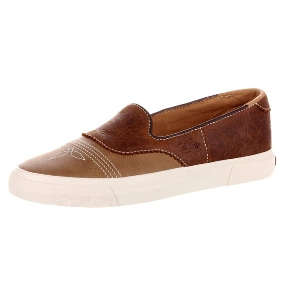 Durango Casual Shoes Womens Leather Slip On Rubber Dusk Dawn