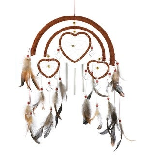 Dreamcatcher Heart Windchime