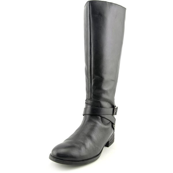 Matisse Destry Women W Round Toe Leather Black Knee High Boot