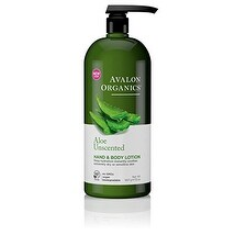Avalon Organics Hand and Body Lotion, Aloe Unscented - 32 oz