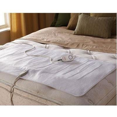 Jarden Msu1xtf-N000-51A00 Sunbeam Polyester Full Twin Electric Mattress Pad White