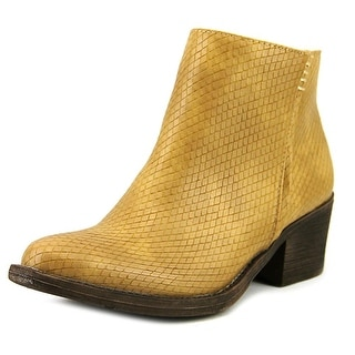 Volatile Raylan   Round Toe Leather  Ankle Boot