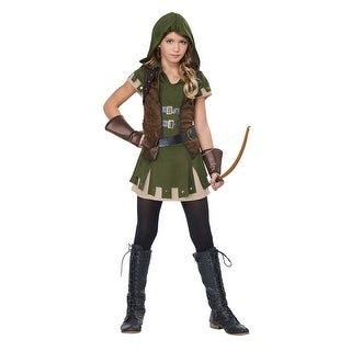 Girl's Miss Robin Hood Costume