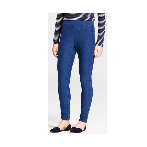 ccb5e695a Shop A New Day Women 1-Pair High Waisted Real Back Pockets Jeggings - Blue  - Free Shipping On Orders Over  45 - Overstock - 24301234