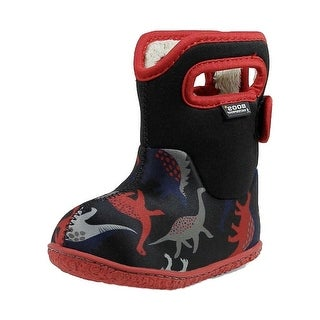 Bogs Outdoor Boot Boy Baby Dinos Plush Lining Waterproof