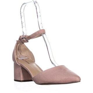 Call It Spring Aiven Block-Heel Ankle-Strap Pumps, Pink