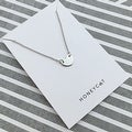 Honeycat Small Heart Charm Necklace (Delicate Jewelry) - Thumbnail 3