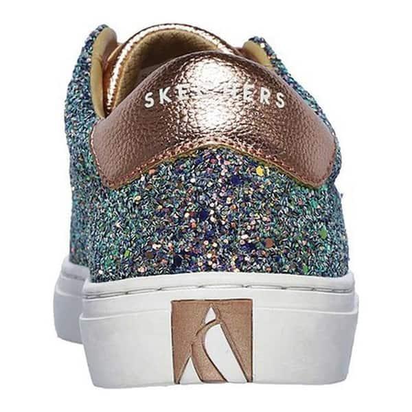 7daffe7f4acce Shop Skechers Women's Side Street Awesome Sauce Sneaker Gold/Multi ...