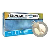 Diamond Grip Plus Powder Free Examination Glove, Medium