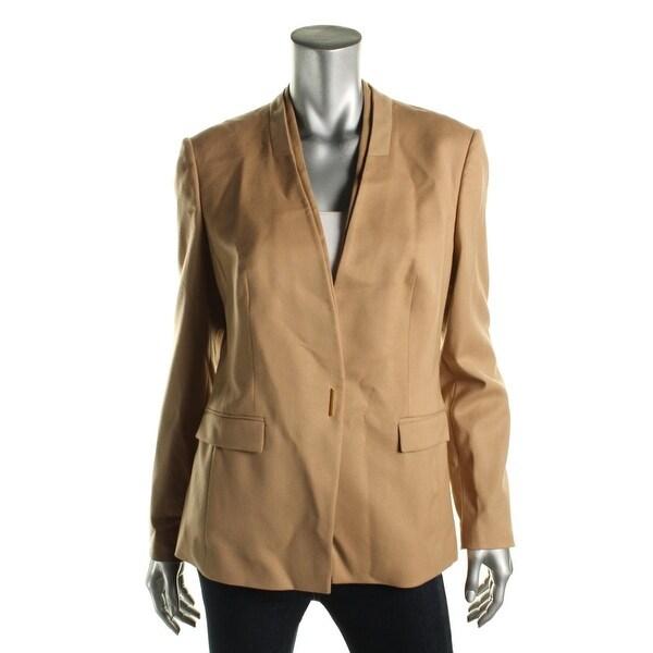 9d1ea52406 Shop BOSS Hugo Boss Womens Jazina Suit Jacket Wool Long Sleeves ...