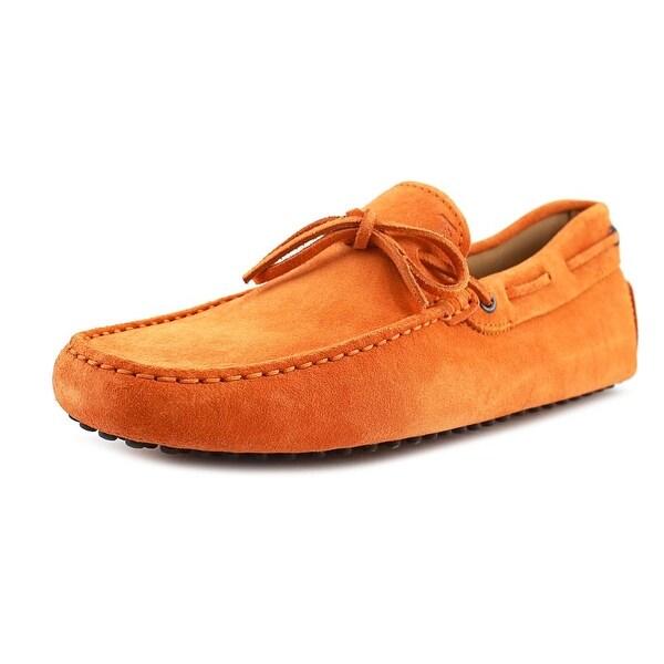 5577841b7ab Tod  x27 s New Laccetto Occh New Gommini 122 Men Moc Toe Leather Orange
