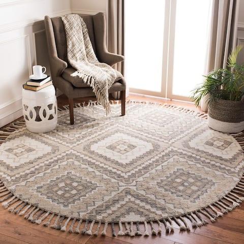 Safavieh Handmade Aspen Liza Moroccan Boho Wool Tassel Rug
