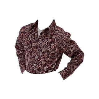 Roper Western Shirt Boys Paisley L/S Purple 03-030-0225-0712 PU https://ak1.ostkcdn.com/images/products/is/images/direct/320e8eb653393e3a67e172b542ac80c9a6d0acf0/Roper-Western-Shirt-Boys-Paisley-L-S-Purple-03-030-0225-0712-PU.jpg?impolicy=medium