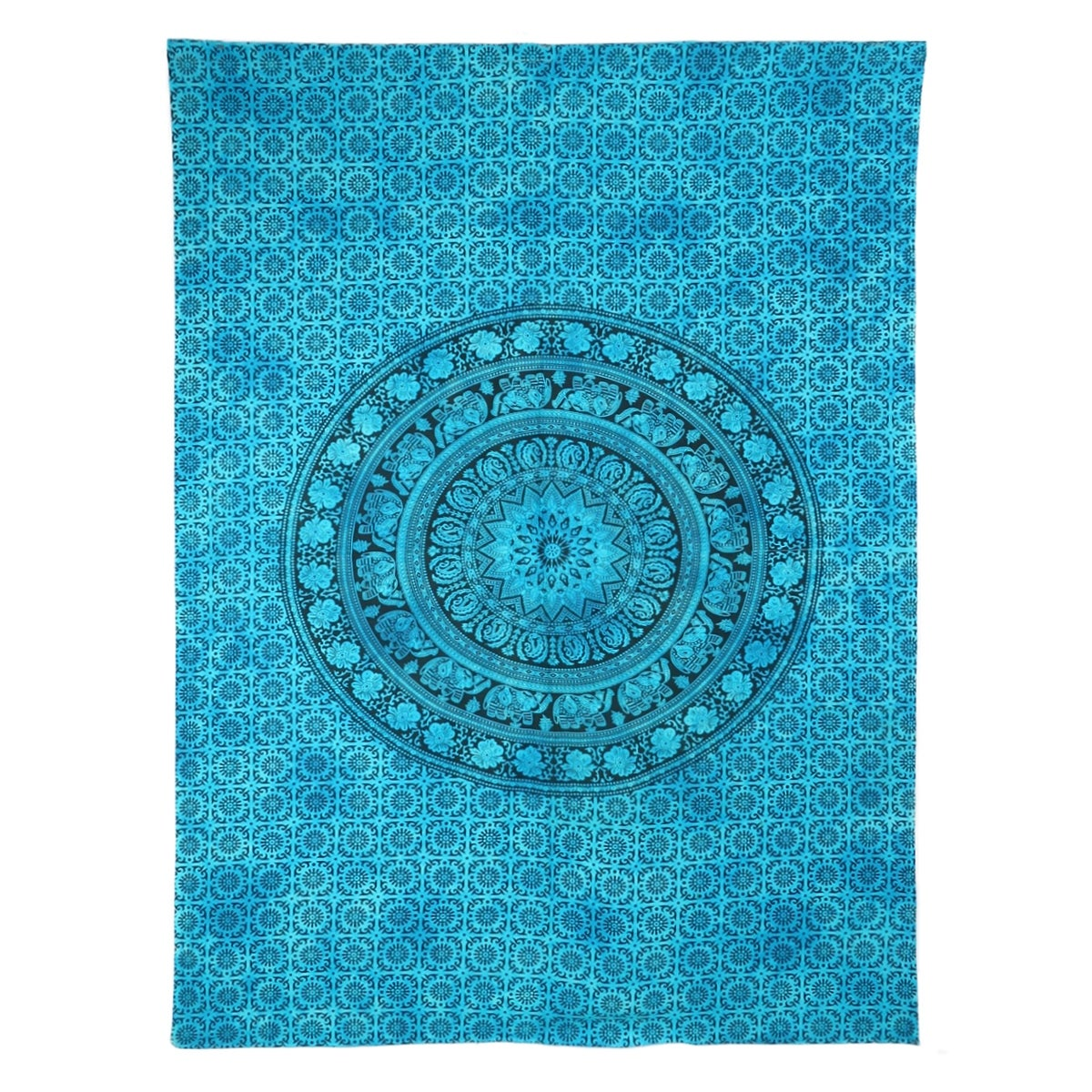 Indian Tapestry Wall Hanging Mandala Hippie Bedspread Bohemian Dorm Decor Throw