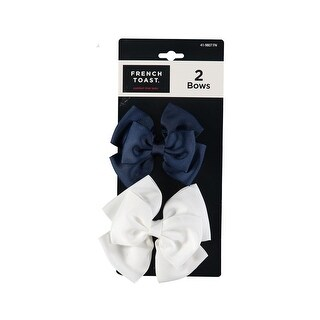 French Toast Girls 2-Pack Hair Bows
