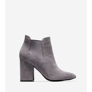 Cole Haan Womens Whitlyn Bootie Almond Toe Ankle Chelsea Boots