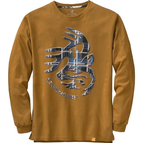 Legendary Whitetails Men's Signature Series Long Sleeve T-Shirt - Barley