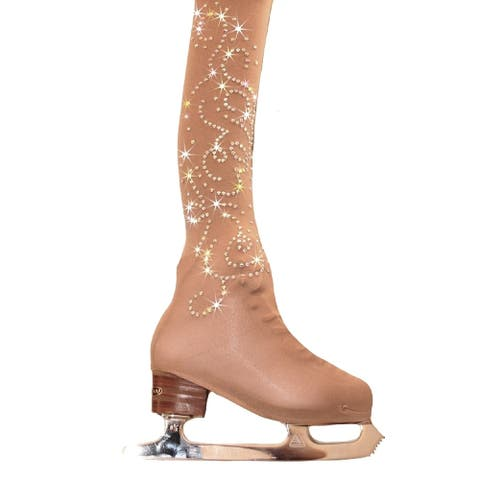 Ice Fire Skating Adult Nude Over The Boots Ice Skating Tights Women